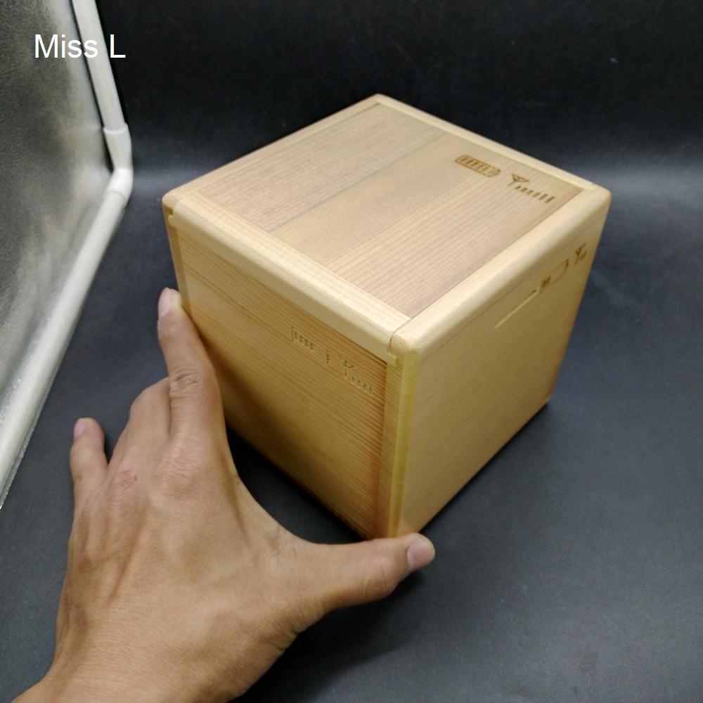 Holz Geschenkbox Puzzle mit Sondermechanismus Intelligenz Spiel Spielzeug Münze Geldkasten Spannungslinderung