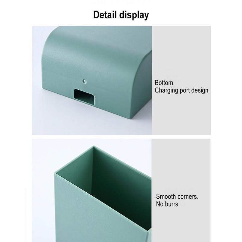 Kontrol Yapıştır Kutusu Çantası Çöp Banyo Depolama Raf Masası Cep Telefonu Şarj Duvara Monte Uzaktan Bbyduf Kozmetik F Avoeh