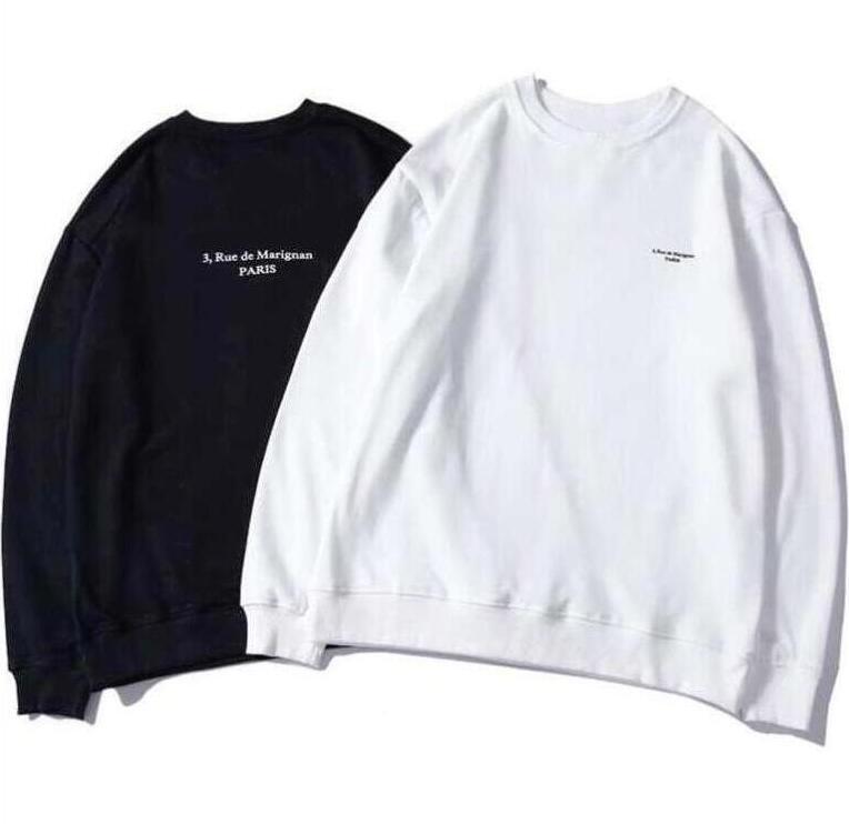20FW tasarım hoodies erkek kadın için hoodie sweatshirt harfler ile bahar sonbahar hip hop casual streetwear 2 renk isteğe bağlı