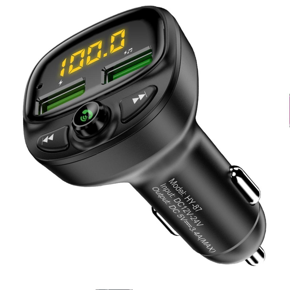FLOVEME VALE BLUETOOTH Lecteur MP3 Kit de voiture Prise en charge de la carte TF Carte U Disk Bluetooth Connection