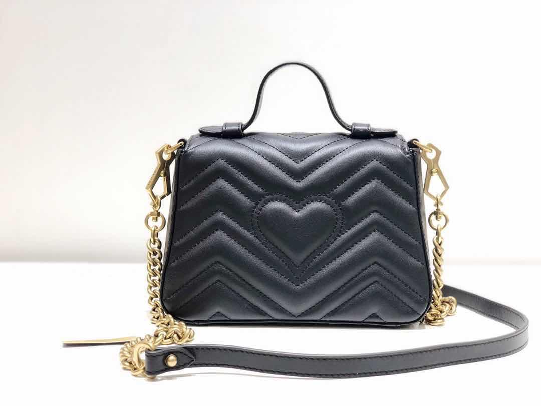 Высокое качество 3A 21 см натуральная кожа мода Marmont Matelasse сумка на плечо, веб-ремешок, на молнии вокруг закрытия, скрещенная сумка бесплатная доставка