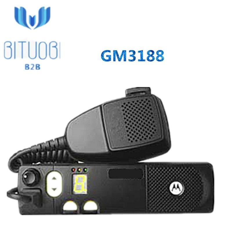 Walkie Talkie GM3188 VHF UHF Radio 136-162MHz 146-174MHz 403-440MHz 438-470MHz 465-495 490-527MHz 차량 8 채널로 Mouted