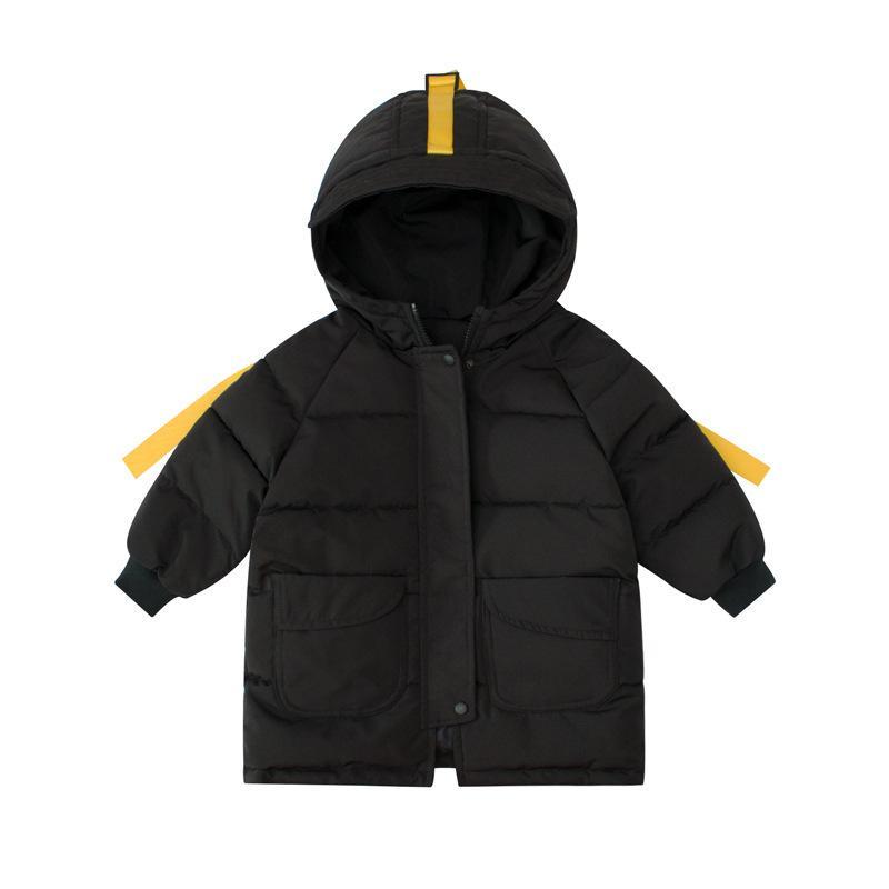 2020 ropa de los niños Orangemom con capucha ropa de algodón chaquetas de invierno lindo muchachas de los cabritos para los muchachos de la chaqueta para bebé