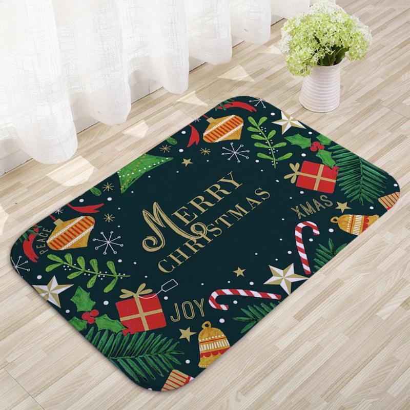 Alfombra Navidad Navidad Feliz Navidad Decoración para la decoración del hogar Navidad Natal 2020 Adorno Año Nuevo