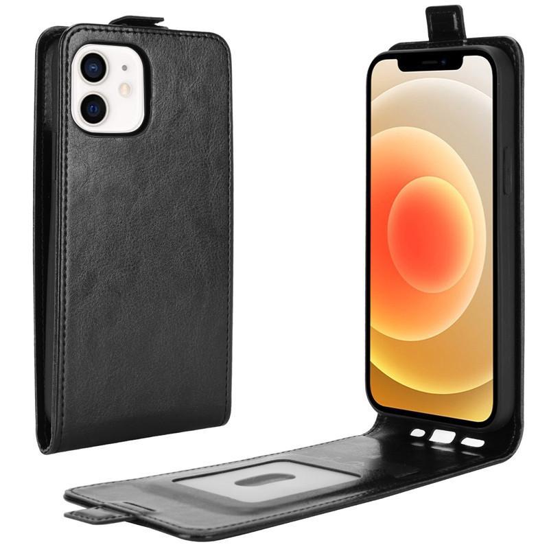 Para o iPhone 12 pro máximo caixa de couro luxo bolsa de cartão de couro da foto capa para iphone 11 xs 8 7 plus