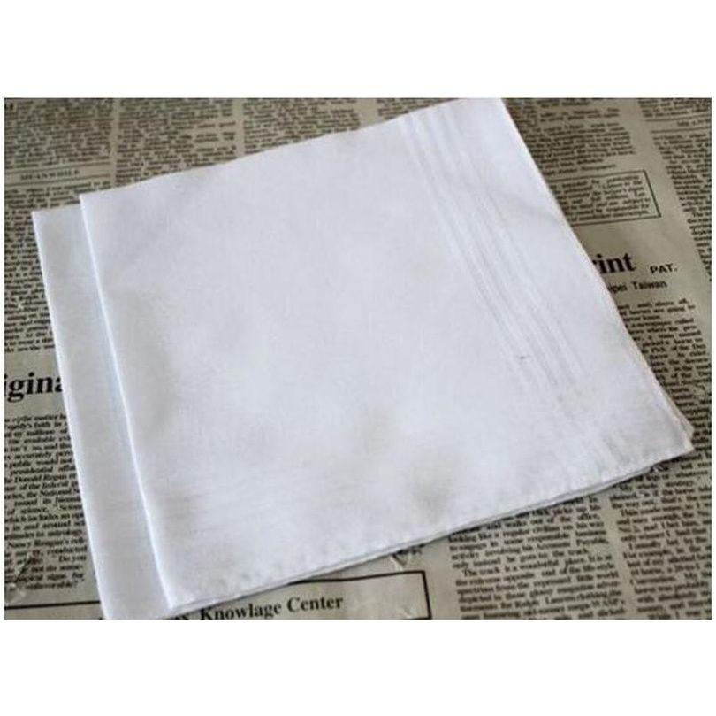Mouchoir JLLJAQ Whitest coton mâle Table 100% 34cm Themboats Soirée Handkerchief carrée Lucky2005 34cm Satin APDEP