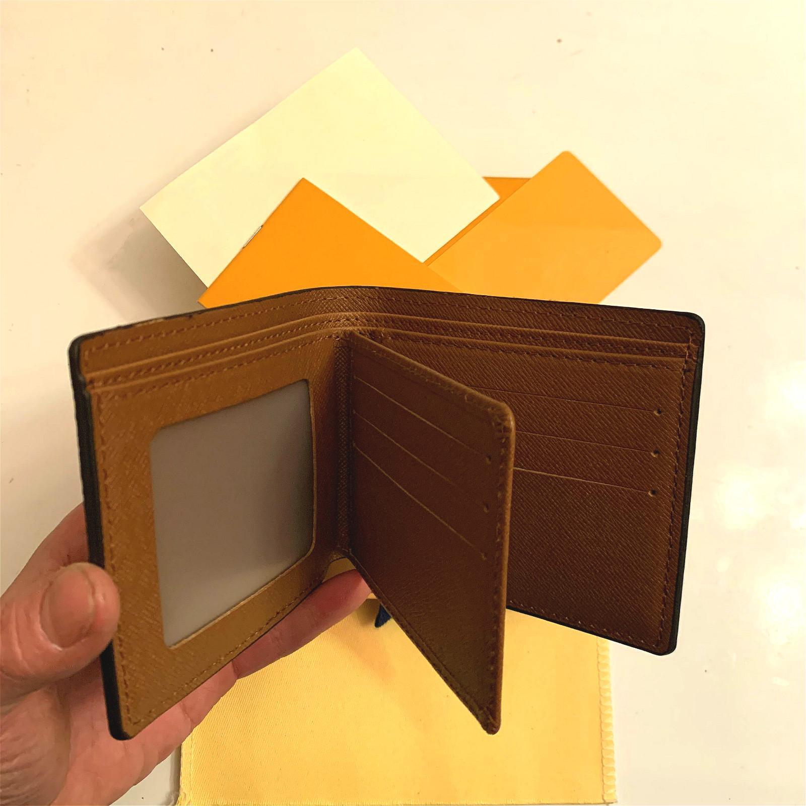 2020 nouveau sac Livraison Gratuite Livraison Billfold Modèle à carreaux de haute qualité Femmes portefeuille hommes Pureaux de concepteur H haut-gamme portefeuille avec boîte 119