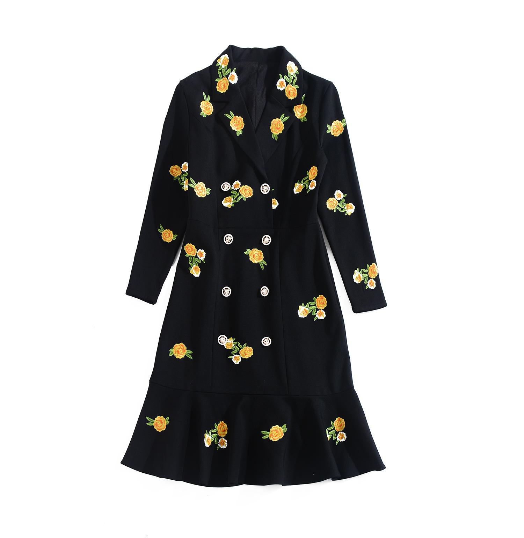 2021 Primavera New Women Dy Slim Skirt Skirt Skirt Suit Vestito da colletto