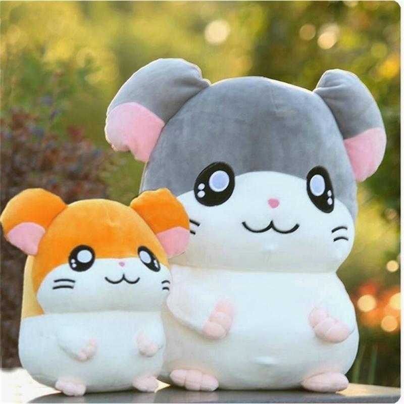 Hamtaro Plüschspielzeug Super Soft Japan Anime Hamster Gefüllte Puppe Spielzeug für Kinder Cartoon Figur Spielzeug für Kinder Geburtstagsgeschenk 201214