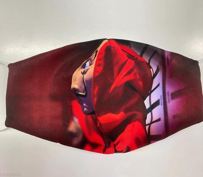 Fashion Fashion Skull Designer Máscaras DHL Boca Máscara Barco 3D Impresión 3D Halloween Party Cosplay Paño de algodón Máscaras Anti polvo Boca cubierta FY0065