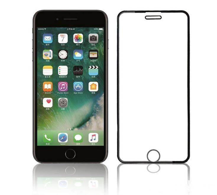 Factory1m4wglue Curved Glass Screen Screen Protecteur d'écran complet pour téléphone 11 Pro Max XR 8 7 6 Plus XS