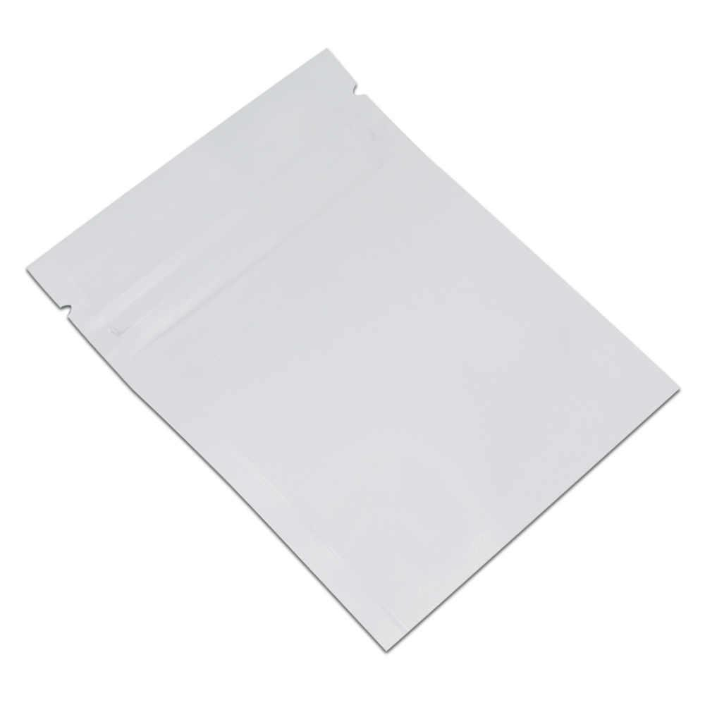 200pcs Lot Colorful Aluminum Foil Pouch Bag Zip Lock Self Seal Zip Plastic Foil Bag Translucent Packing Bag For Food Bean Candy H bbyhJR