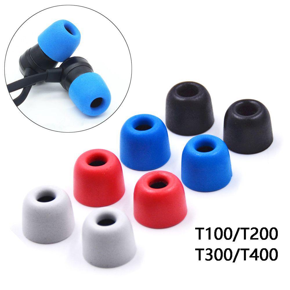 1Pair Soft Memory mousse Earbuds Earmuffs T100 / T200 / T300 / T400 S / M / L