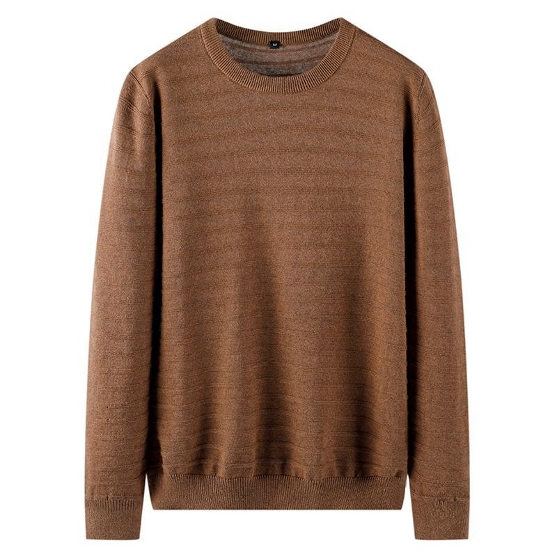 Varsanol Pullovers O-шеи мужской свитер твердый хлопок базовый старинный свитер мужчины полные пуловеры черный серый Masculino негабаритные 201023