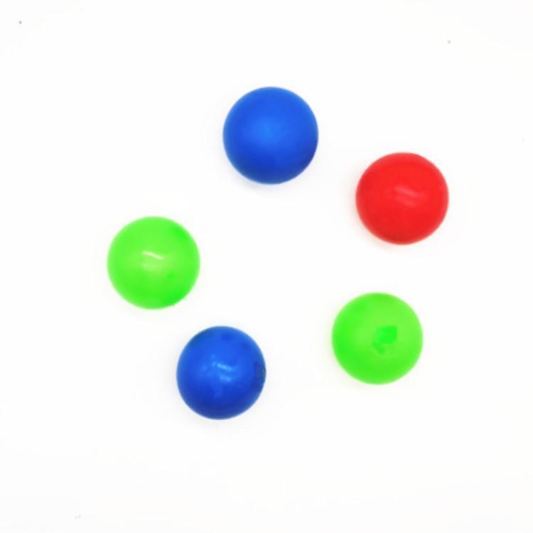 Palla da parete appiccicosa fluorescente fluorescente soffitto a soffitto palla da soffitto da soffitto e lancio della decompressione dell'interno Parent-Child Child Bambino bersaglio palla bersaglio
