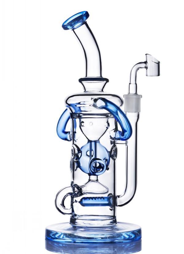 안경 물 파이프 물 담뱃대 Shisha Heady 오일 rigs 유리 버블 러 재활용 봉수 파이프 오일 버너 파이프 흡연 액세서리