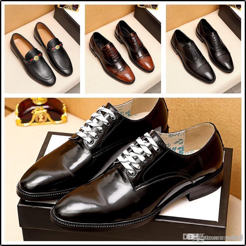 C8 Свадебные Обувь Мужчины Классический Итальянский Бренд Бизнес Обувь Мужчины Оксфорд Кожаные Кожаные Кожаные Официальные Обувь Мужские Платье Chaussure Homme But 33