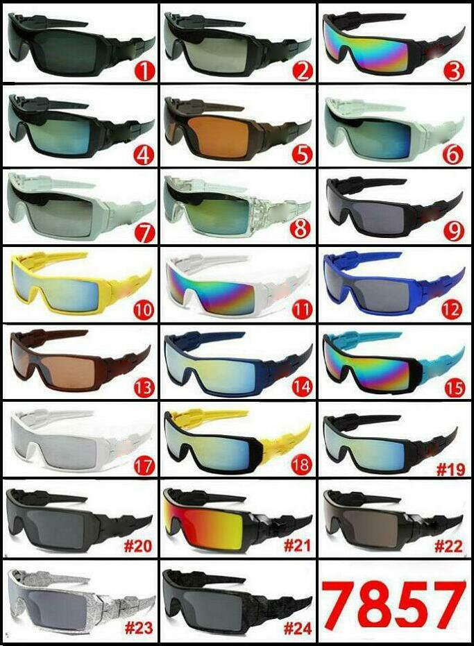 النظارات الشمسية المطبوعة شعبية للرجال والنساء في الرياضة الشمس الزجاج النظارات مصمم نظارات الرجال نظارات الرجال موك 10 أزواج