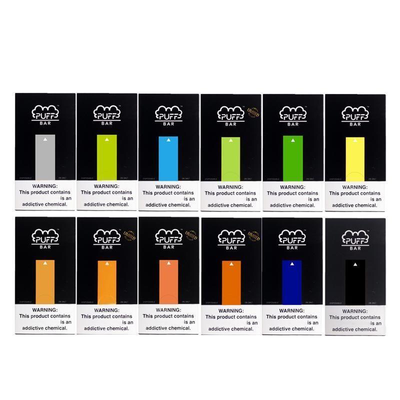 Nouvelle arrivée Puff Bar à usage unique Pen pods Appareil Vape Pen huile Cartouches Réservoir E-cig Kit de démarrage avec le code de sécurité