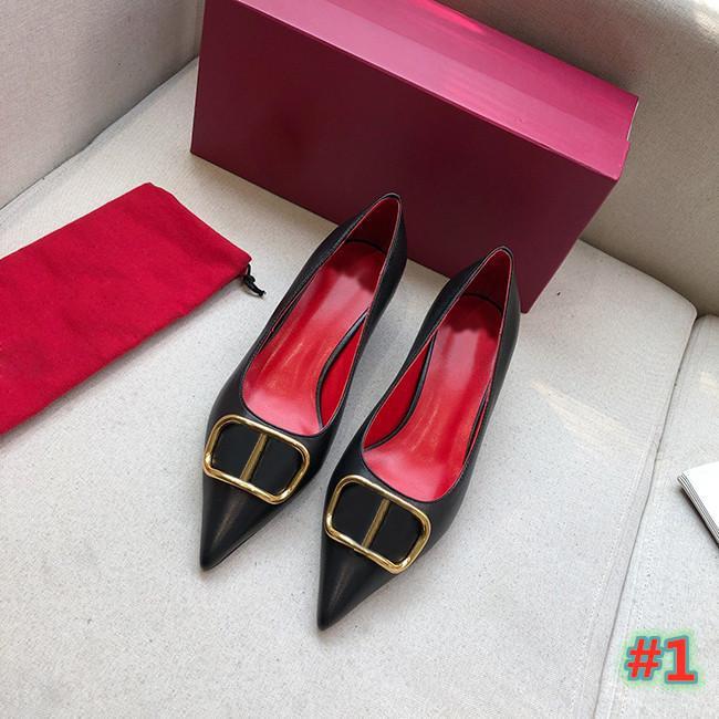 Tasarımcı Parti Düğün Ayakkabı Gelin Kadınlar Bayanlar Sandalet Moda Seksi Elbise Sivri Burun Yüksek Topuklu Boyutu 35-42with Kutusu