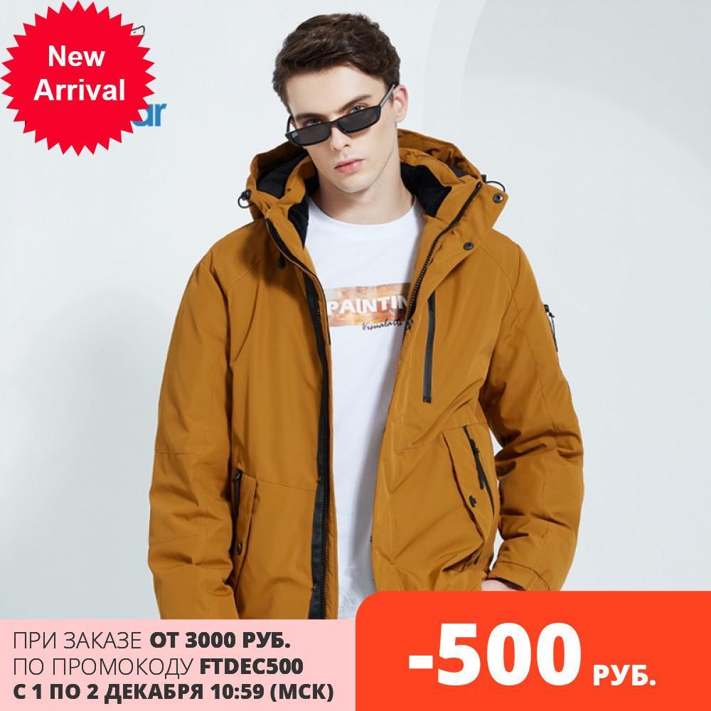 Icebear 2020 outono e inverno novo casaco com capuz casaco de algodão quente moda roupas masculinas mwd20853d