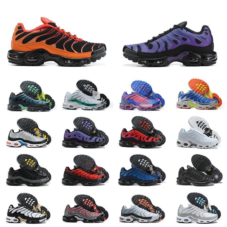 Mens Tn più le scarpe SE Ultra High Quality Bianco Blue Designer Sneakers Retro Classic Tns esterna formatori Size 40-46 Esecuzione