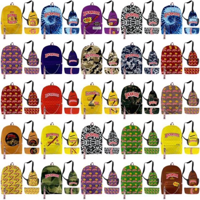 Cigar Zealand Bag Backwoods Travels Boys для сумки на плечо Сумка Backwood Print Ноутбук дизайнерская школа Новый рюкзак Новый рюкзак рюкзак yxlnq hwjh