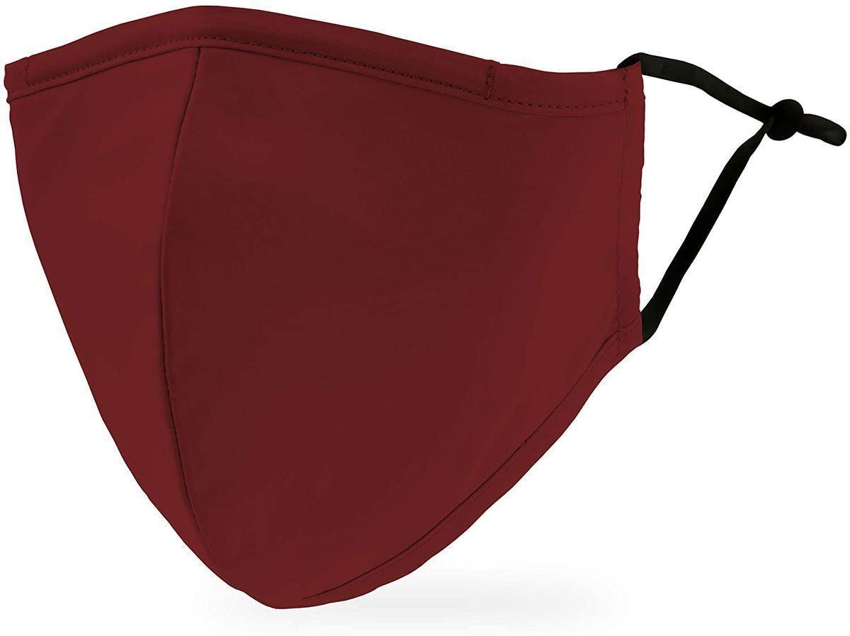 Регулируемая свадьба моющейся ткани защитная рудная маска и тканевая крышка из ткани с карманом для пыли.