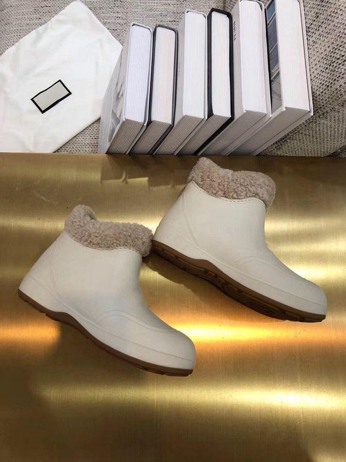 Botas de neve de neve de alta qualidade Botas quentes de inverno simples sapatos femininos clássicos e texto sapatos decorativos disponíveis em uma variedade de cores YJ65