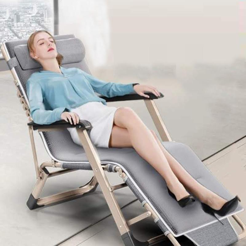 للطي كرسي الأثاث في الهواء الطلق التخييم الحياة المحمولة قيلولة عودة كرسي تراس الترفيه كرسي قابل للتعديل كرسي أثاث غرفة المعيشة