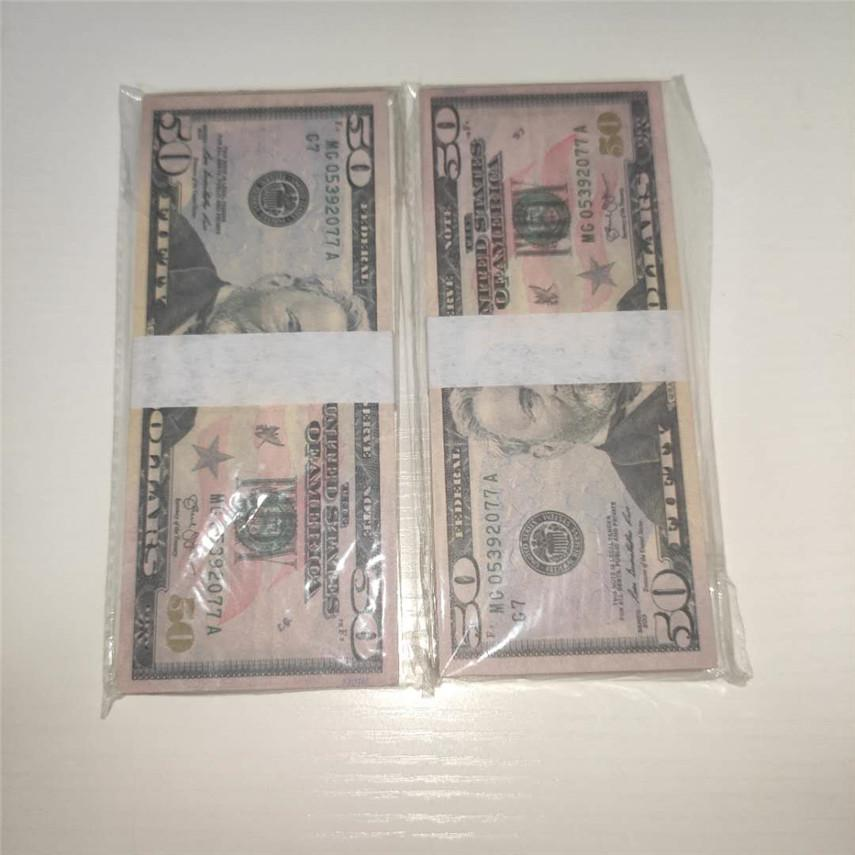 Qualité de la monnaie de vente en gros de la monnaie Fast Party expédition Copier des accessoires U.S. Usands devises 50-2 pièces / Package 100 BPRJV MLLJE