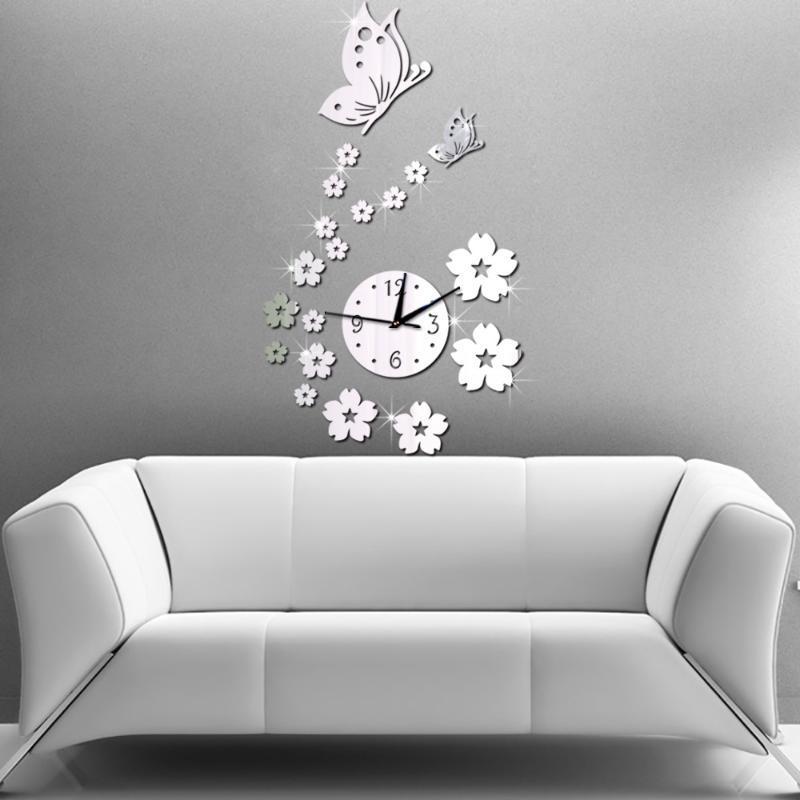 3d настенные часы spiegel diy wallclock декоративные настенные часы современный дизайн стикер horloge муральский дизайн moderne