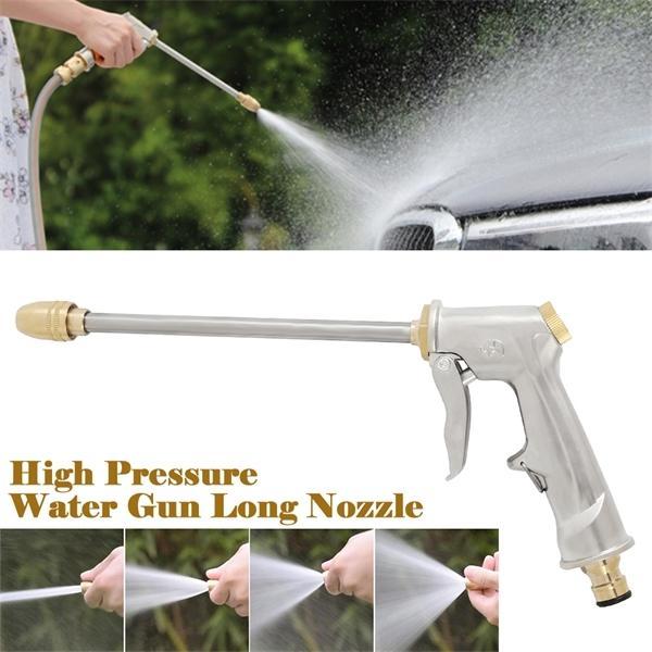 Poder de alta presión Pistola de agua Pistola de agua Jet Jard Warter Hose Boquilla Rociador de lavado Rociador Spray Sprinkler Limpieza 1008