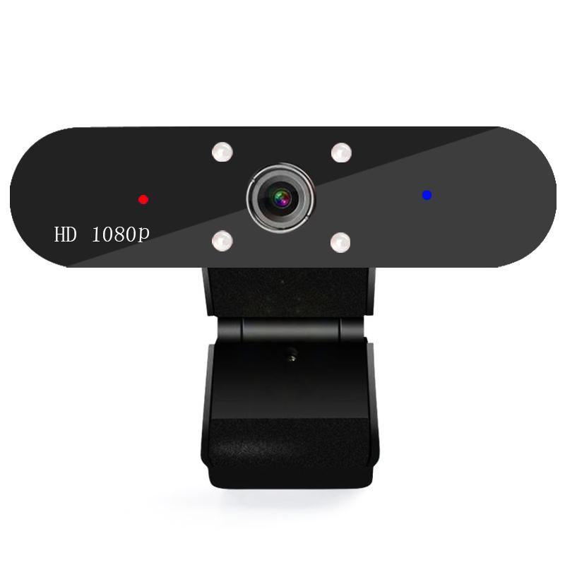 Веб-камера 1080P HD Веб-камера со встроенным цифровым HD микрофон 1920x1080P USB Plug N Play Web Cam для ноутбука на рабочем столе PC