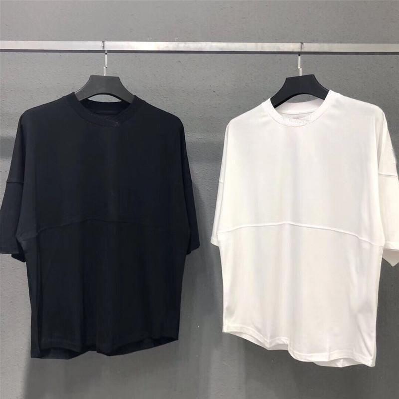 2021 Yeni Erkek Kadın Tasarımcılar T Gömlek Moda Erkekler S Casual T Shirt Adam Giyim Sokak Tasarımcısı Şort Kol Giysileri Tişörtleri 20ss