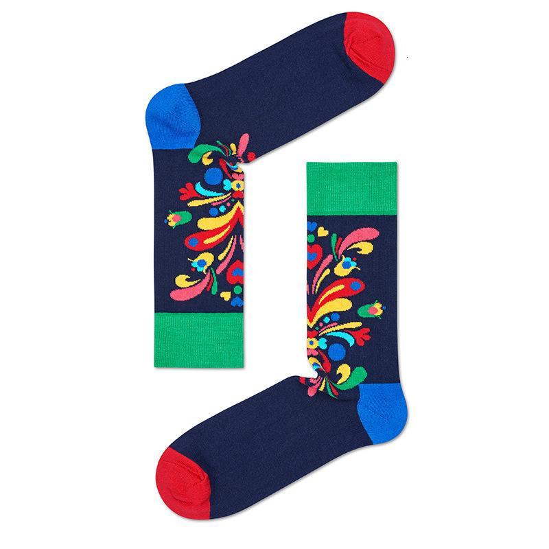 Funny Hommes Coton Femmes heureux à chaussettes Ole Pring et Ummer 2pcs = 1paits
