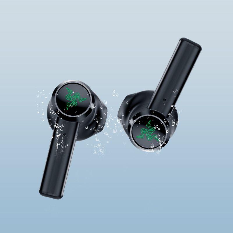 Razer Hammerhead Gerçek Kablosuz Kulaklık TWS Bluetooth 5.0 IPX4 Kulak Kulakiçi Dahili Mikrofon Açık / Kapama Anahtarı Kulaklık Kulaklıklar DHL