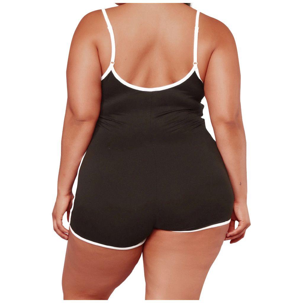 Donne Rompere BodyCon Playsuit Donne Plus Size 5xl Senza maniche Sospendenti Sexy Sport Sport Tuta DONNA ESTIVA