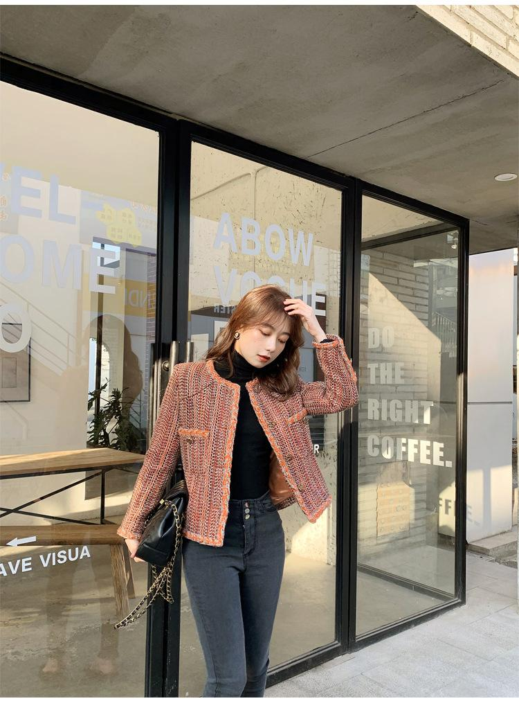 120 2021 Spring Brand Same Style Coat Dresses Regular Empire Button Fashion Casual Coat High Quality Yingyu