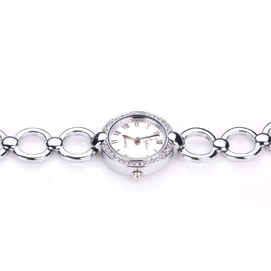 LVPAI Small Guarda le donne in acciaio inox Acciaio inossidabile Reloj Mujer Quartz Orologio da polso Luxe Femmes Montre Femme Braccialetto Orologi ZEGAREK DAMSKI