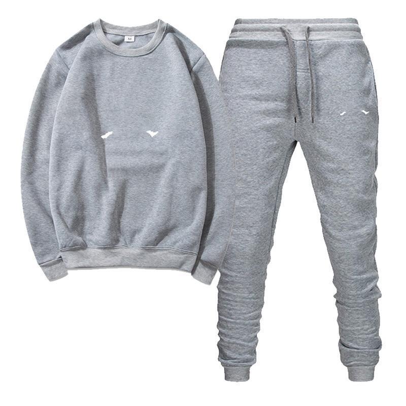 Pull pour femmes 2020 Designer pour hommes Nouveaux vêtements d'exécution Pull de couleur massif pour hommes + pantalon multicolore en option