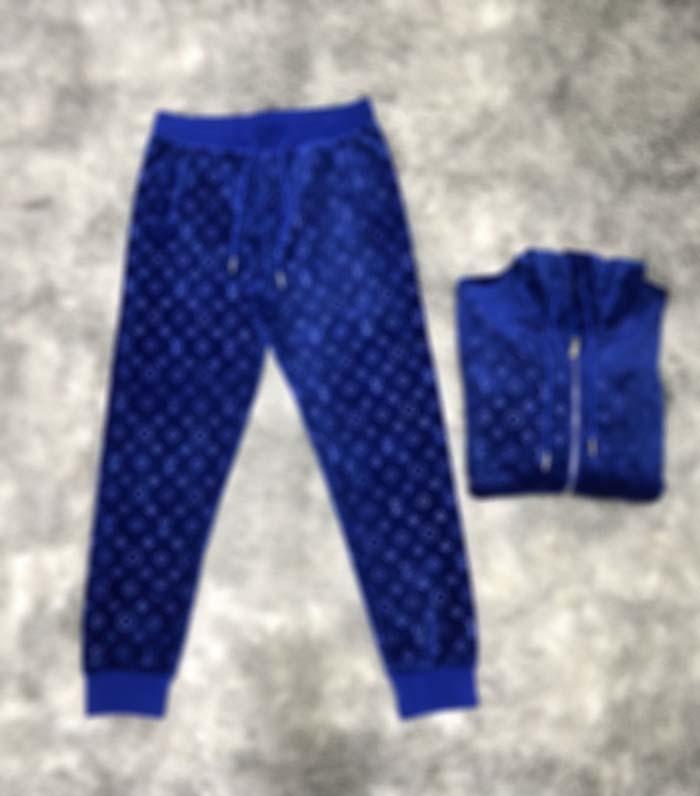 Designer Mens Tracksuits francese autunno inverno moda Velvet Letter Tocksuit Designer Designer di alta qualità Blubreaker traspirante con cerniera traspirante