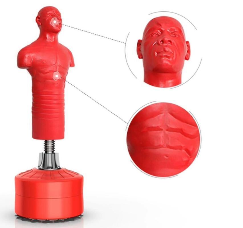 Bolsa de arena Boxeo Tumbler Marsh Forma F / GS Punzonado Silicone Figura