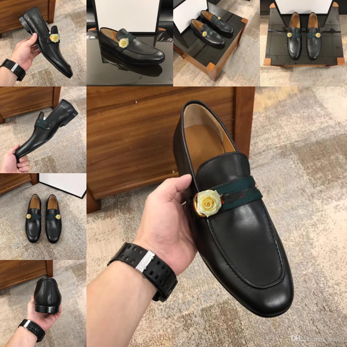 55 дизайнеров мужские формальные туфли натуральная кожа Oxford обувь для роскошных мужчин черный 2020 платье обувь свадебные туфли кружевы кожаные броги 11