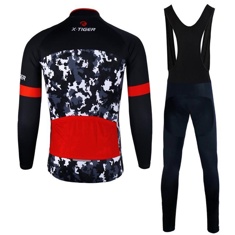 Гоночные наборы мужская одежда 2021 зимний велосипед ремешок на открытом воздухе Спорт на открытом воздухе Велоспорт MTB езда носить с длинным рукавом ветряное трубу теплые спортивные одежды