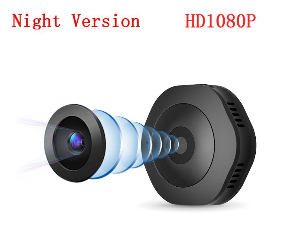 La versione HD 1080P H6 Wifi micro macchina fotografica Notte Mini Action Camera del sensore di movimento della videocamera portatile Voice Video Recorder DV DVR Piccolo
