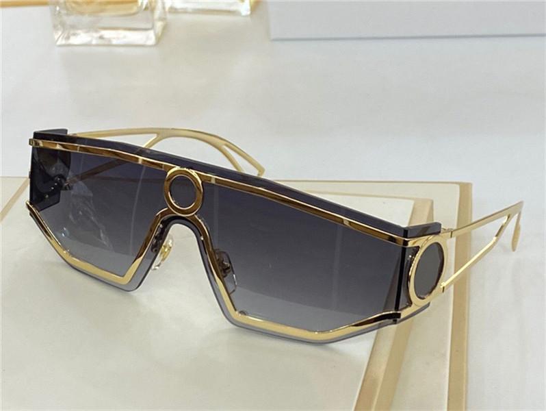2021 New Fashion Design Sunglasses 2226 Occhiali protettivi irregolari UV400 Occhiali protettivi da esterno UV400 Stile semplice e generoso