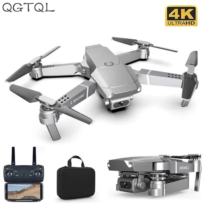 LSRC New E68PRO Мини Дрон широкоугольный 4k 1080P WiFi FPV Камеры Дроны Высота Держал режим RC Складной Quadcopter Dron Мальчик Игрушечный Подарок 201208