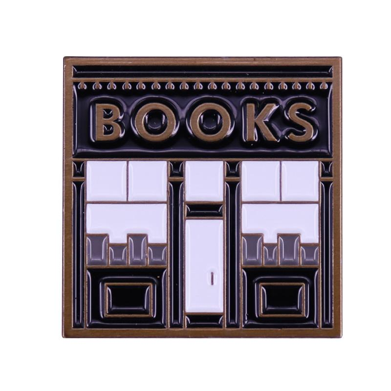 Tiny Book Shop Bavero Spilla Lettura Pin letterario Amore Il minimalismo pulito di esso!