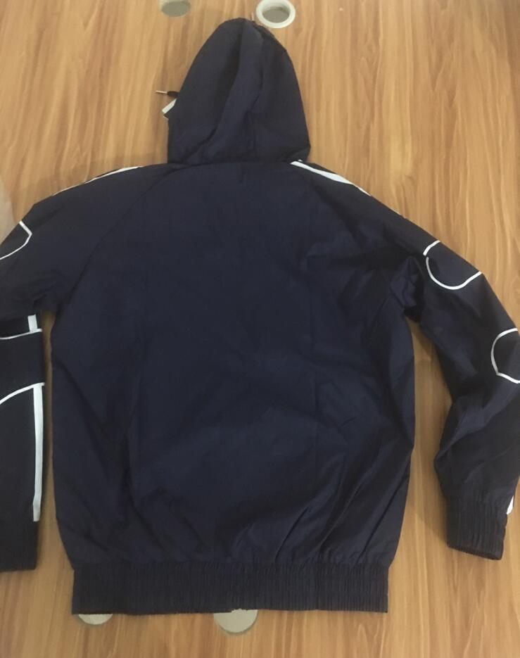 Sonbahar Erkek Ceketler Ceket Erkek Kapşonlu Ceket Moda Rüzgarlık Fermuar Hoodies Erkekler Sportwear 3 Renkler L-4XL Toptan